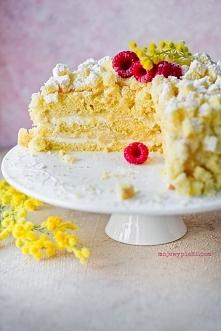 TORT MIMOZA WŁOSKA TORTA MI...