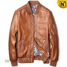 CWMALLS® Arlington Custom Leather Bomber Jacket CW808050[Patented Product, Gl...