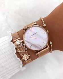 Zegarek + biżuteria