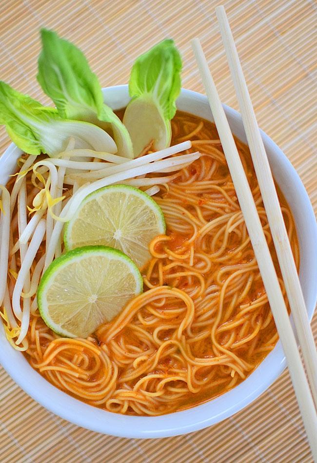 Curry ramen - ostra zupa z Japonii