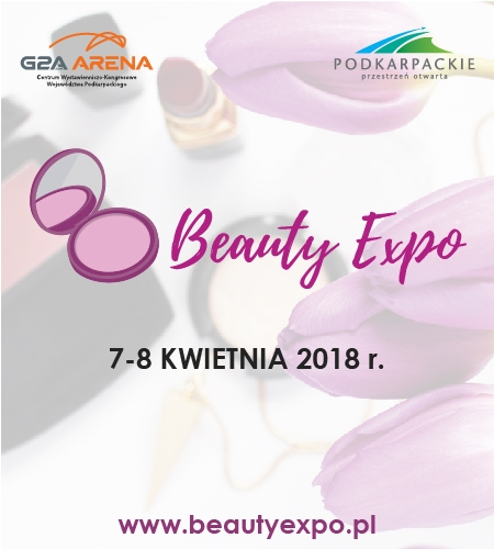 Targi Beauty Expo  Mamy przyjemność poinformować Was, że objęliśmy Patronat nad targami Beauty Expo.  Jeśli lubicie nowinki kosmetyczne i szukacie inspiracji na nowy makijaż lub fryzurę to wydarzenie jest właśnie dla Was.:)  Miejsce: Centrum Wystawienniczo Kongresowe G2A Arena w Jasionce (Rzeszów)  Data: 7-8 kwietnia  Bilet wstępu: 10 zł  Więcej informacji uzyskacie po kliknięciu w obrazek.  Serdecznie zapraszamy!:)