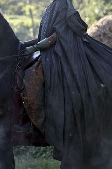 black and horse <3