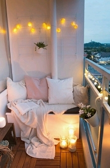 Balkon.