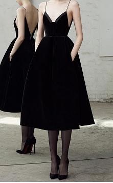 small, black dress