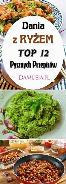 Ryż na Obiad: TOP 12 Pyszny...