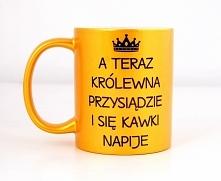 Kuek księżniczki złoty , do zamówienia w naszym sklepie nadruko.pl