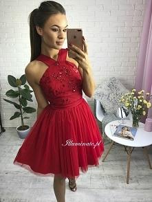 Dziewczęca sukienka z kolek...