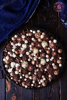 Tarta czekoladowo-pomarańczowa - Wypieki Beaty