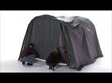 Zobacz jak zmontować namiot garażowy!