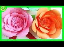 Jak zrobić papierową różę 3...
