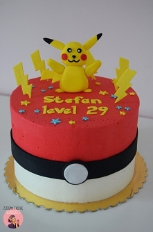 Tort z Pikachu