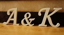 litery z drewna :)