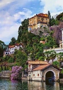 Lake Orta,Italia