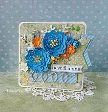 Kartka dla przyjaciółki