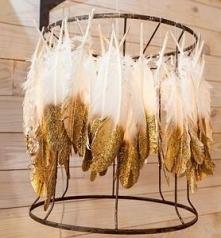 Ślubne dekoracje w brokacie...
