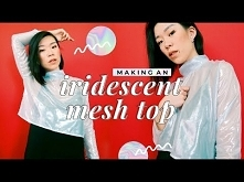 DIY ✨Mesh Top✨ (ASMR?) | WITHWENDY