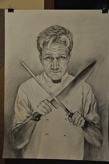 Gordoon 100x70 ołówek ;)   Sztabka Arts - zapraszam na stronę ;)