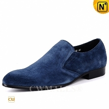 Custom Made Gift | CWMALLS® Phoenix Nubuck Leather Loafers CW708130