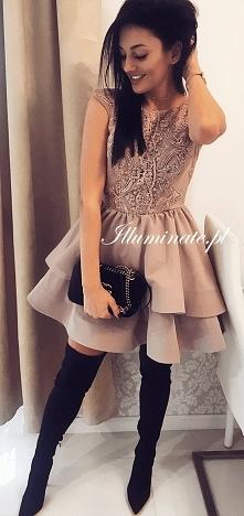 Idealna sukienka na wesele z kolekcji Illuminate <3