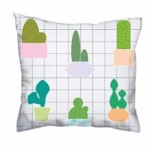 Poduszka w kaktusiki :)