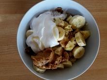 kasza jaglana w wersji na słodko na śniadanie :)