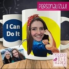 "Kubek ""I Can Do It"" + foto"