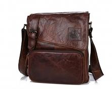 Mamy możliwość zaproponować Państwu klasyczną, miękką, skórzaną torbę męską n...
