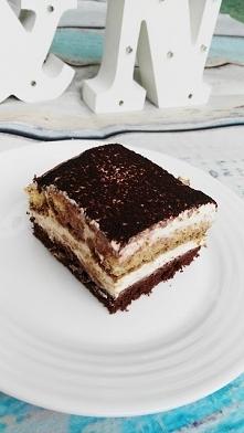 Ciasto tiramisu z amaretto <3