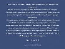Napoleon Hill cytat o umyśle i nowych ideach