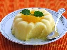 lekki deser mandarynkowy Mała i szybka pyszność dla tych co na diecie i nie t...