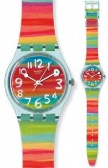 Kolorowy zegarek Swatch ide...