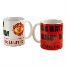 FC Manchester United Kubki ceramiczne 350 ml 2 szt.