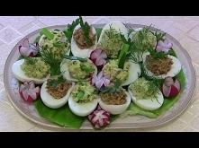 Jajka faszerowane w trzech ...