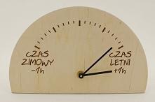 Pamiętajcie dzisiaj o zegar...