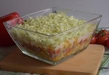 FIT sałatka warstwowa z tortellini