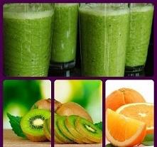 Składniki *2 pomarańcze *2 kiwi *pół cytryny Blendujemy składniki. Mniej odważni dodają miodu lub rozcieńczają smoothie z wodą;)