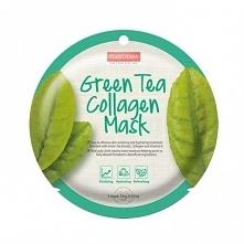 Maska Kolagenowa z zieloną ...