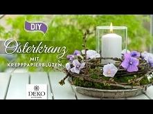 DIY: Osterkranz mit kleinen...