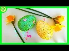 Dekoracyjne Jajko Wielkanoc...