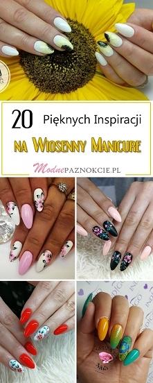 Paznokcie na Wiosnę – 20 Pięknych i Mega Modnych Inspiracji na Wiosenny Manicure