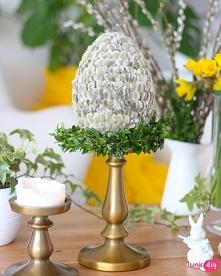Jajko z bazich kotków - jak wykonać zobacz na blogu.