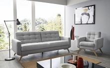 Sofa i fotel Fiord do zamówienia w różnych kolorach i rodzajach materiałów na...