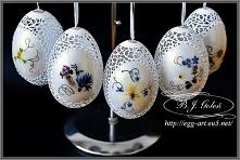 Egg art Ażurowe pisanki i k...