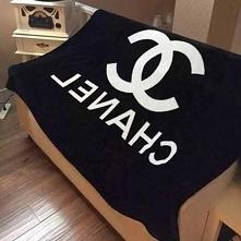 シャネル毛布