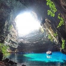 Jaskinia w Grecji