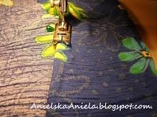 spódniczka w kwiaty DIY