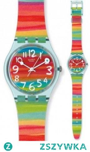 Kolorowy zegarek Swatch idealny na wiosnę 2018!