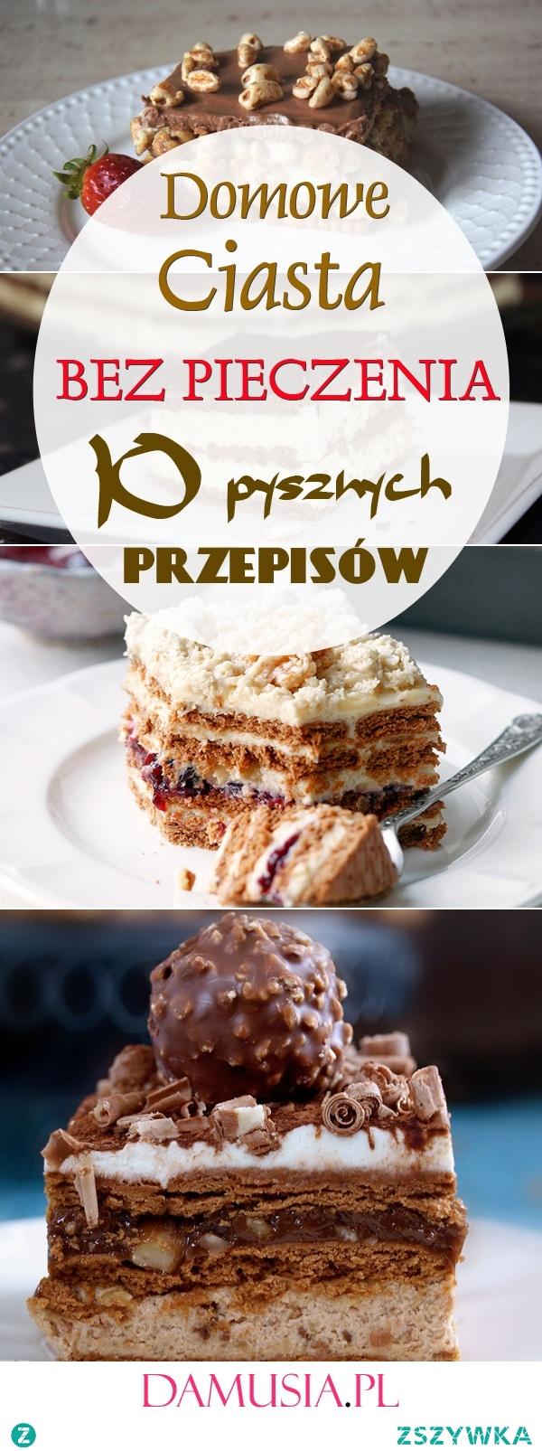 Domowe Ciasta Bez Pieczenia: 10 Pysznych Przepisów