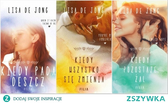 """Książki z cyklu """"Rain"""", Lisa De Jong"""
