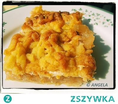 Szarlotka z pianką - Apple Cake Recipe - Torta alle mele